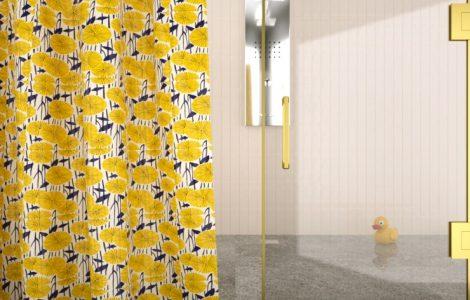 shower curtain vs shower door