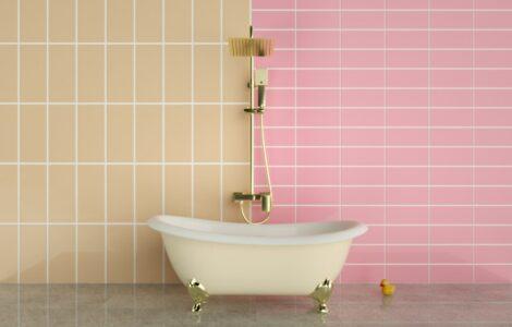 horizontal vs vertical bathroom tiles