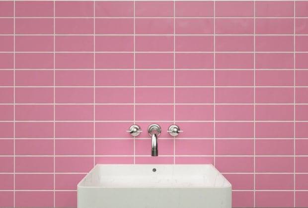 straight lay tile pattern
