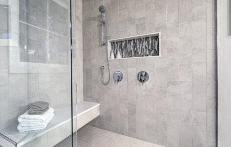 floating shower bench