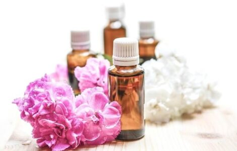 essential oils shower