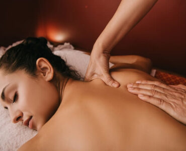 shower after massage