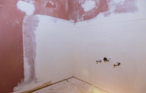 shower drywall