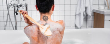 tattoo shower