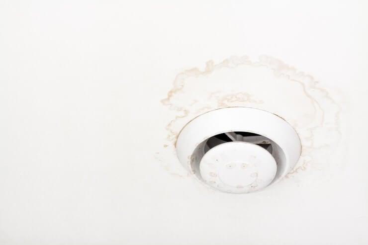 dripping bathroom fan