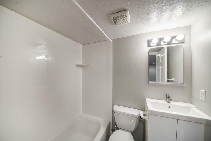 windowless bathroom